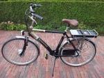 Elektrische fiets omgebouwd